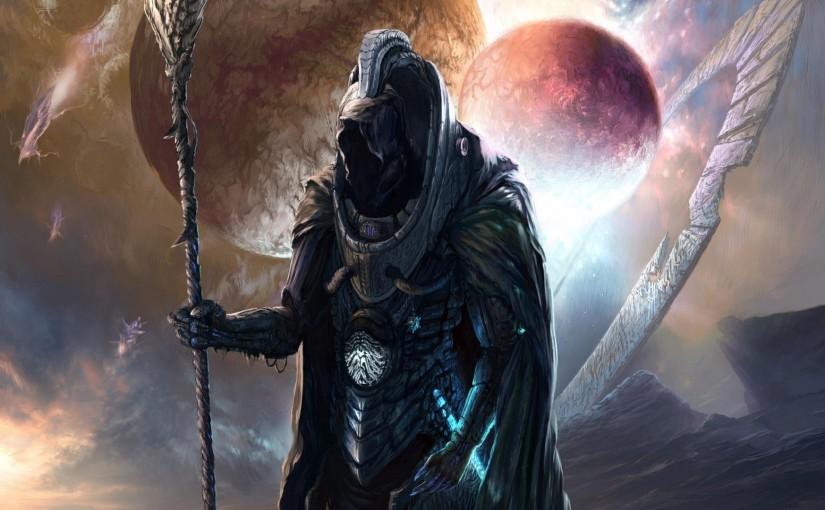 Science Fiction Ausschnitt: In die Zukunft verschlagen